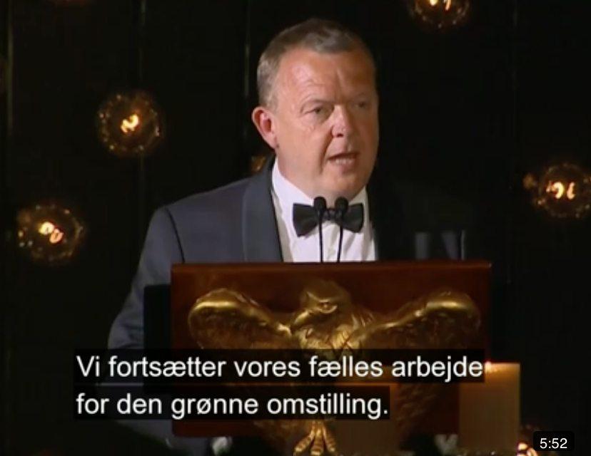 Løkke: Vil nu gerne den grønne omstilling