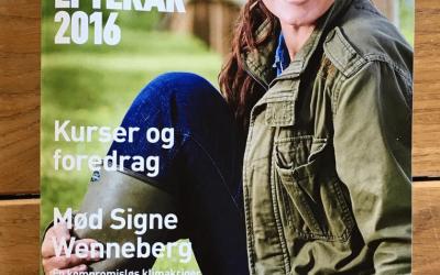 Efteråret 2016 – Grønne foredrag