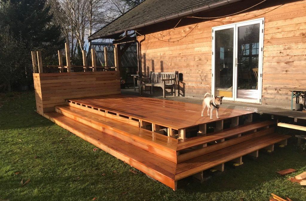 Ny terrasse i haven? Vælg træ med omhu
