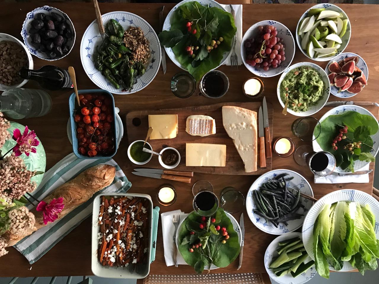 inspiration til grøn mad hitter