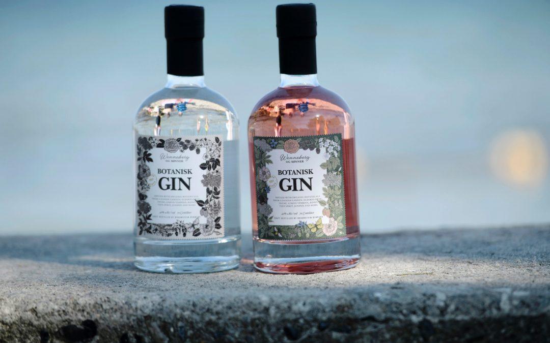 Gode ideer til salg af vores gin til firmaer og til julemarkeder modtages med kyshånd