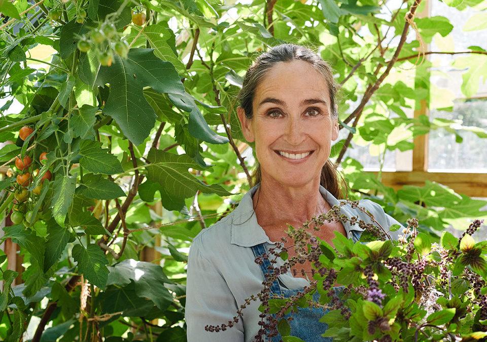 Efterårsferie i den vilde have – med æbletærte, insekthotel, løglægning, valnøddefarve på hænderne og forråd til dyrene